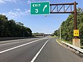 2018-10-02 10 03 55 View south along New Jersey State Route 700 (New Jersey Turnpike) at Exit 3 in Runnemede, Camden County, New Jersey.jpg
