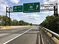 2018-10-02 10 44 16 View north along New Jersey State Route 700 (New Jersey Turnpike) at Exit 3 (New Jersey State Route 168, Camden, Atlantic City Expressway) in Runnemede, Camden County, New Jersey.jpg