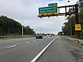 2018-10-10 08 48 41 View west along Interstate 66 (Custis Memorial Parkway) at Exit 69 (Sycamore Street - Falls Church) in Arlington County, Virginia.jpg