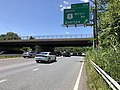 2019-06-14 14 19 58 View west along the Outer Loop of the Baltimore Beltway (Interstate 695) at Exit 32A (SOUTH U.S. Route 1-Belair Road, Overlea) in Overlea, Baltimore County, Maryland.jpg