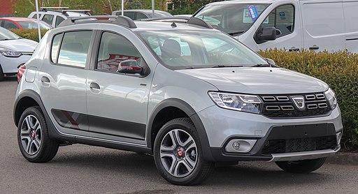 2019 Dacia Sandero Stepway Techroad Front
