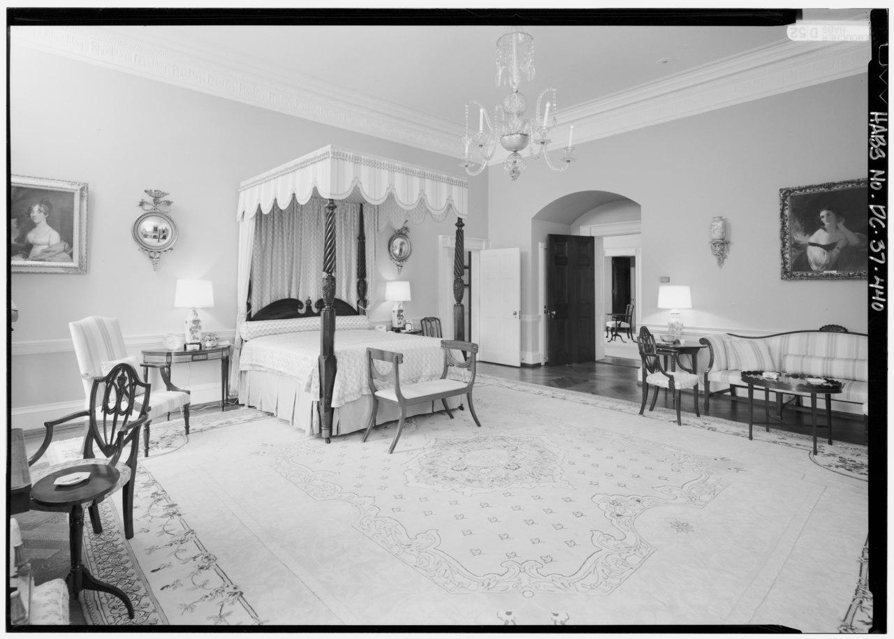 File 212 Queen 39 S Bedroom View To SE Corner White House 1600 Pennsylva
