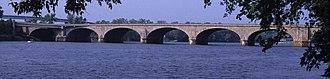 Bulkeley Bridge - Image: 215 10 Morgan G. Bulkeley Bridge