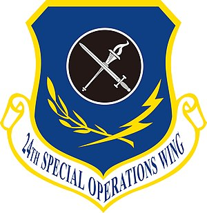 24th Special Operations Wing - Image: 24th Special Operations Wing insignia
