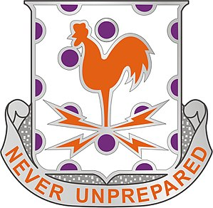 25th Signal Battalion (United States) - Image: 25 Sig Bn DUI