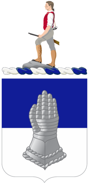 320th Cavalry Regiment (United States) - Coat of Arms of the 320th Cavalry Regiment