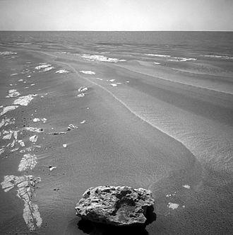 Block Island meteorite - Image: 376060main PIA12161 full straightened and sharpened