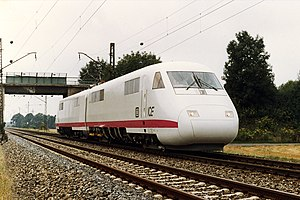 InterCityExperimental - The power cars without the coaches on the Karlsfeld-Olching line