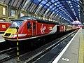 43312 London Kings Cross to Newcastle 1N35 at Kings Cross platform 6 (34791279316).jpg