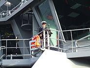 4a Arrival of Thor - Icelandic Coast Guard 2011-10-27 Reykjavik