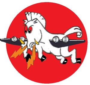 532d Training Squadron - 532d Bombardment Squadron emblem