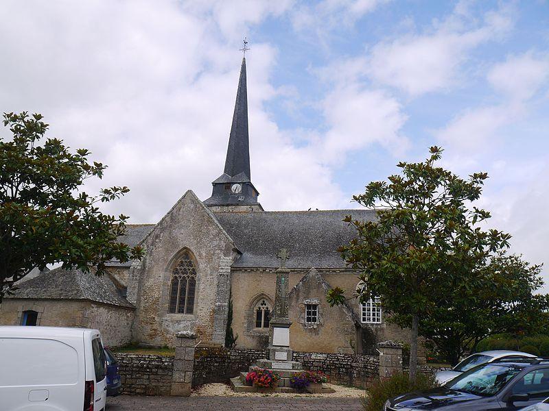 L'église Saint-Cyr-et-Sainte-Julitte.