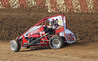 POWRi Midget Racing - Midget of 2014 champion Zack Daum