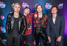 5 Seconds of Summer bij B96 Pepsi SummerBash 2019