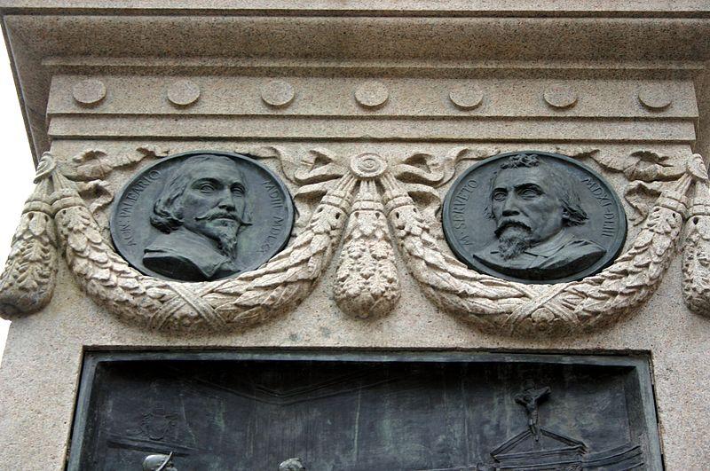 File:6659 - Roma - Ettore Ferrari, Monumento a Giordano Bruno (1889) - Foto Giovanni Dall'Orto, 6-Apr-2008.jpg