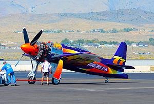 Rare Bear - 77 F8F-2 Bearcat (N-777L) Rare Bear 2014 Reno Air Races
