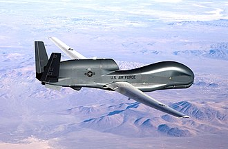 KQ-X - A Northrop Grumman  RQ-4B similar to that used in the KQ-X aerial refuelling trials.