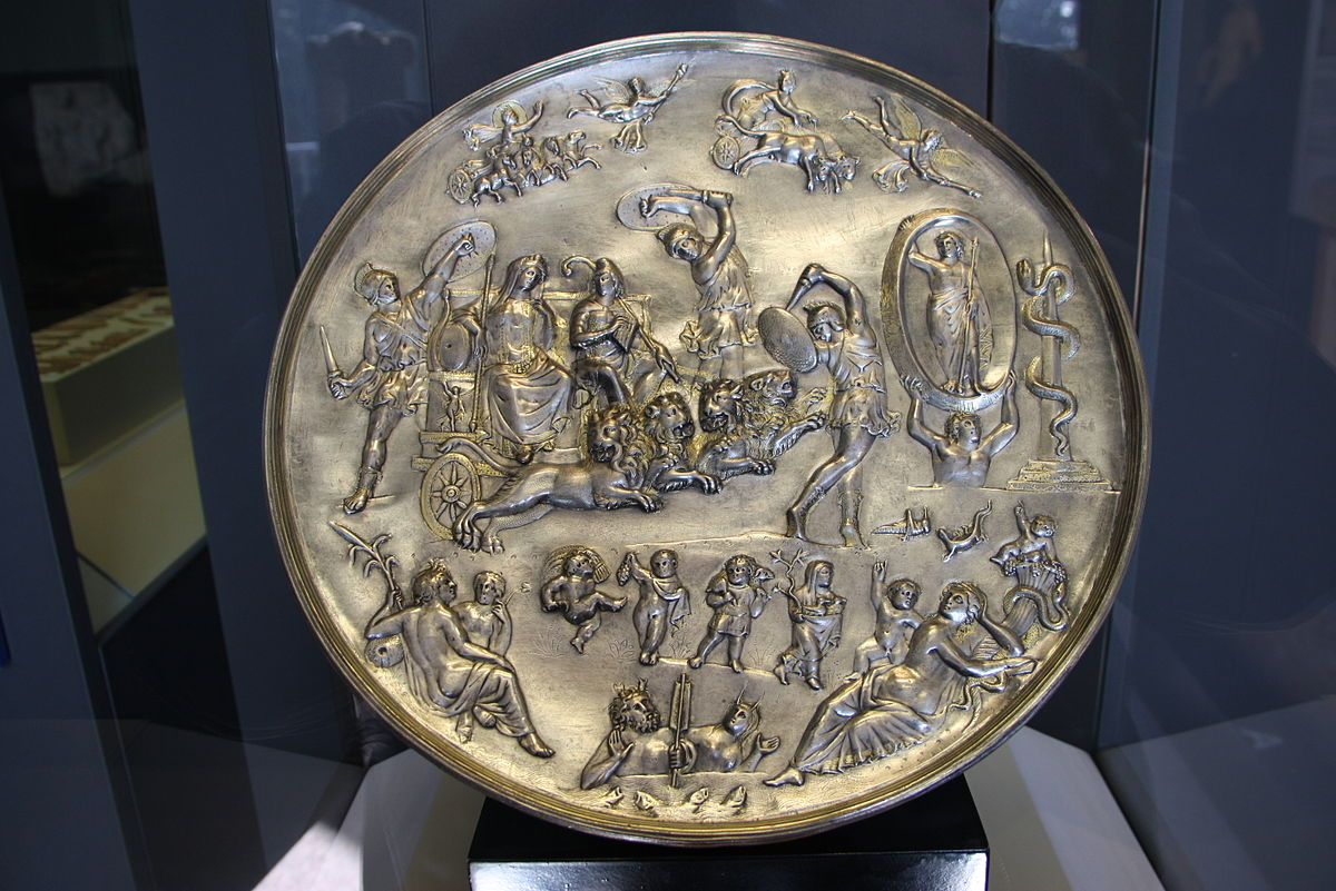 The Sun And The Moon Parabiago Plate - Wiki...