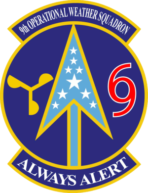 9th Operational Weather Squadron - 9th Operational Weather Squadron emblem