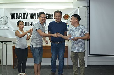 9th Waray Wikipedia Edit-a-thon 33.JPG