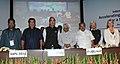 A.P.J. Abdul Kalam, the Union Minister for Health and Family Welfare, Shri Ghulam Nabi Azad, the Union Minister for Overseas Indian Affairs, Shri Vayalar Ravi, the Chairman of Forum of Parliamentarians on HIV AIDS.jpg