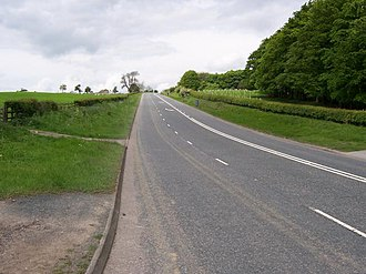 A59 road - The Long Causeway