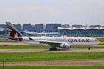 A7-ACC - Qatar Airways - Airbus A330-202 - CKG (11479772674).jpg