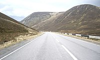 A93 down valley of Cairnwell Burn - geograph.org.uk - 1562719.jpg