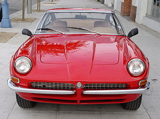 AC Frua - 1968 AC Frua coupé, front