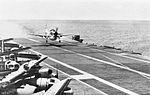 AD-5W of VAW-11 lands on USS Bennington (CVS-20) in 1962.jpg