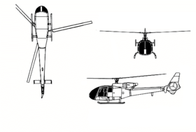 Image illustrative de l'article Aérospatiale SA340 Gazelle