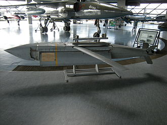 AGM-154 Joint Standoff Weapon - An expended sub-munition AGM-154 JSOW used during Operation Allied Force, on display at the Belgrade Aviation Museum in Serbia.