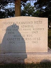 ANCExplorer Harry Hammond Hess grave.jpg