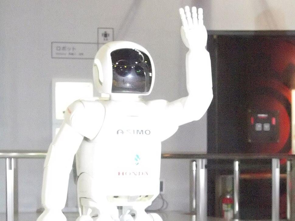 ASIMO visual sensor