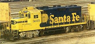 Blomberg B - Image: ATSF 3055 19871200 CA San Bernardino