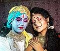 "A DIVINE RELATIONSHIP ""Yesoda-krishna "".jpg"