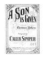 A Son Is Given.pdf