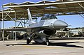 A US Air Force (USAF) F-16 Fighting Falcon aircraft with the 308th Fighter Squadron (FS), 56th Fighter Wing (FW), taxi out of the flight line during a routine training mission at Lu - DPLA - 0a9a880688783f40859a6b53acf695c7.jpeg