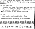 A compleat key to the Dunciad Fleuron T101143-6.png