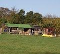 A couple of sheds near Nettlestead Green - geograph.org.uk - 1568511.jpg