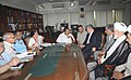 A delegation from the Judiciary and Legal Commission of Parliament of Iran meeting the Union Minister for Law & Justice, Dr. M. Veerappa Moily, in New Delhi on June 02, 2010.jpg