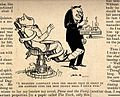A dentist being restrained in a chair, and terrified by a pa Wellcome V0011523.jpg