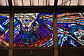 A giant stained glass owl inside the Cosmovitral, Toluca, Mexico..jpg