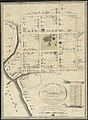 A plan of the town of New Haven - with all the buildings in 1748 taken by the Hon. Gen. Wadsworth of Durham to which are added the names and professions of the inhabitants at that period - also the (10208491065).jpg