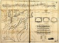A section of Colton's large map of Indiana with the Fort Wayne and Southern Rail Road marked upon it, as located also a map of the United States showing Road and its connections together with a LOC 98688661.jpg