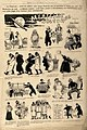 A series of caricatures concerning night calls by doctors. W Wellcome V0011828.jpg