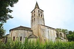 Abbaye de Saint-Papoul, l'église.jpg