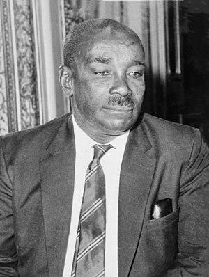 Vice-President of Tanzania - Image: Abeid Karume 1964
