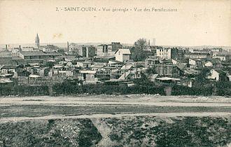 City walls of Paris - Image: Abeille 2 STO Vue générale Vue des Fortifications