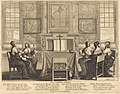 Five women seated around an altar